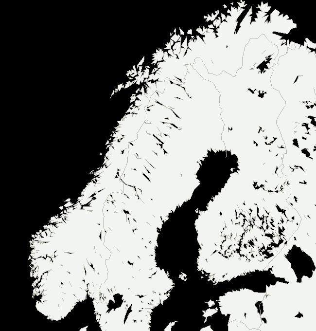 Noreg, nedbør siste time
